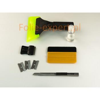 Pełny zestaw narzędzi i roztwór montażowy -bonus